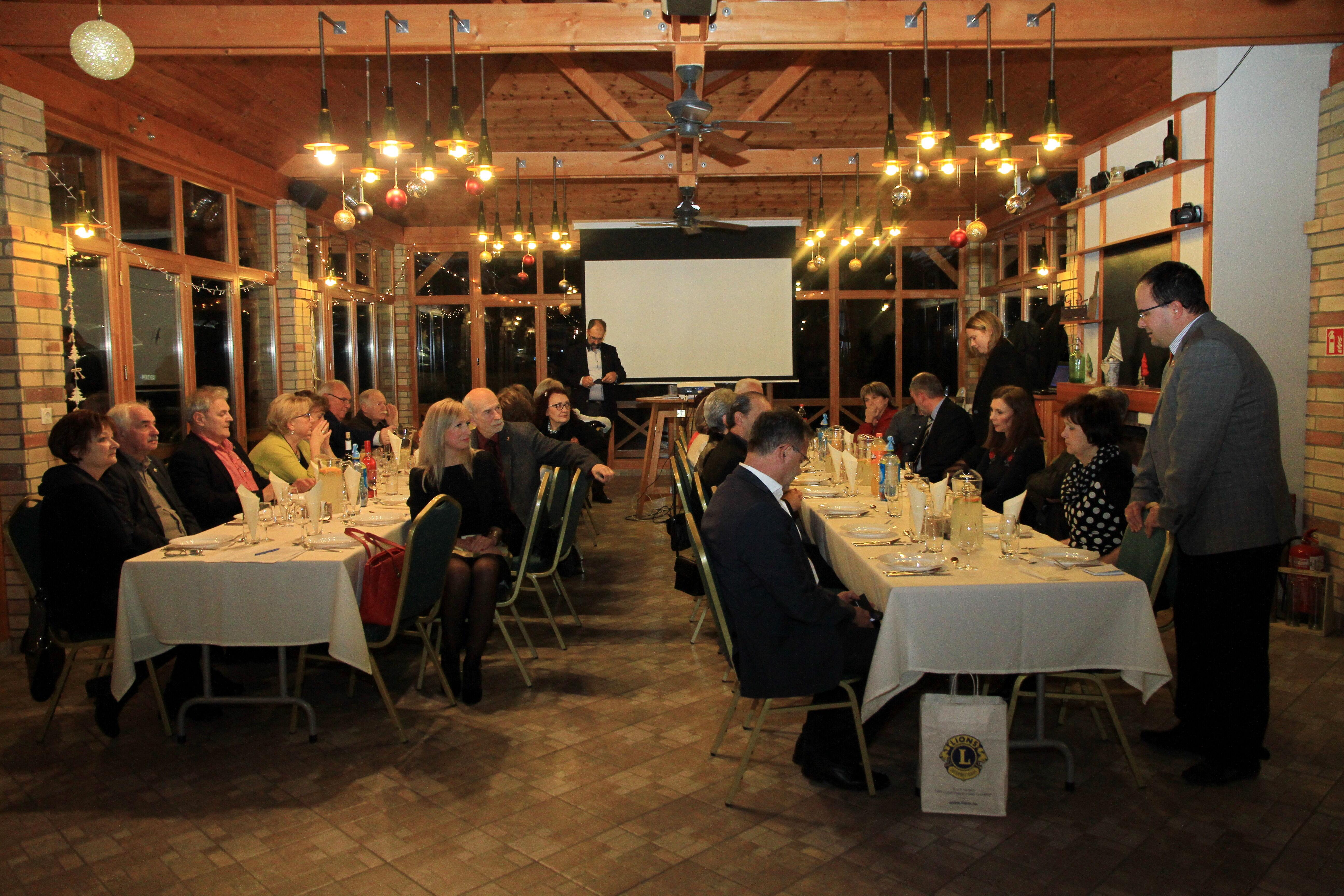 Monor Hegyessy Lions Club évzáró 2018