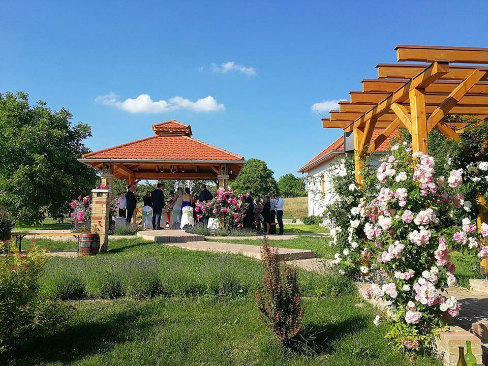Esküvő helyszín a pincefaluban