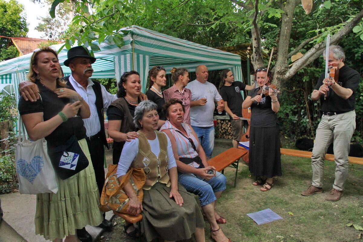 BOR-óka zenekar a Borvidékek Hétvégéje rendezvényen