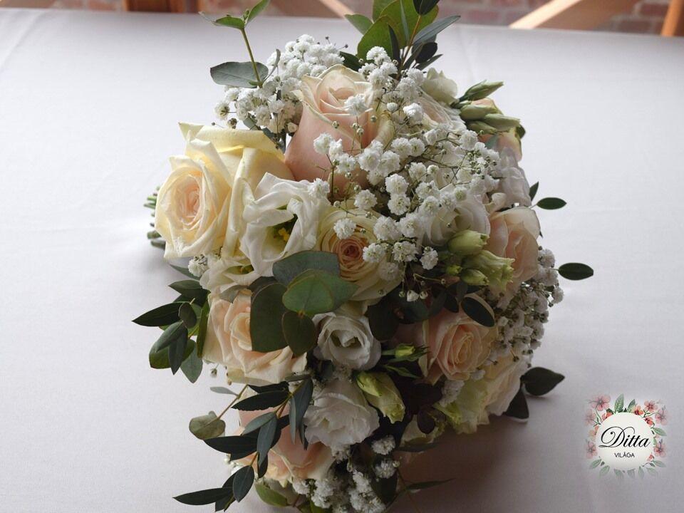 Esküvői dekoráció és Ditta világa