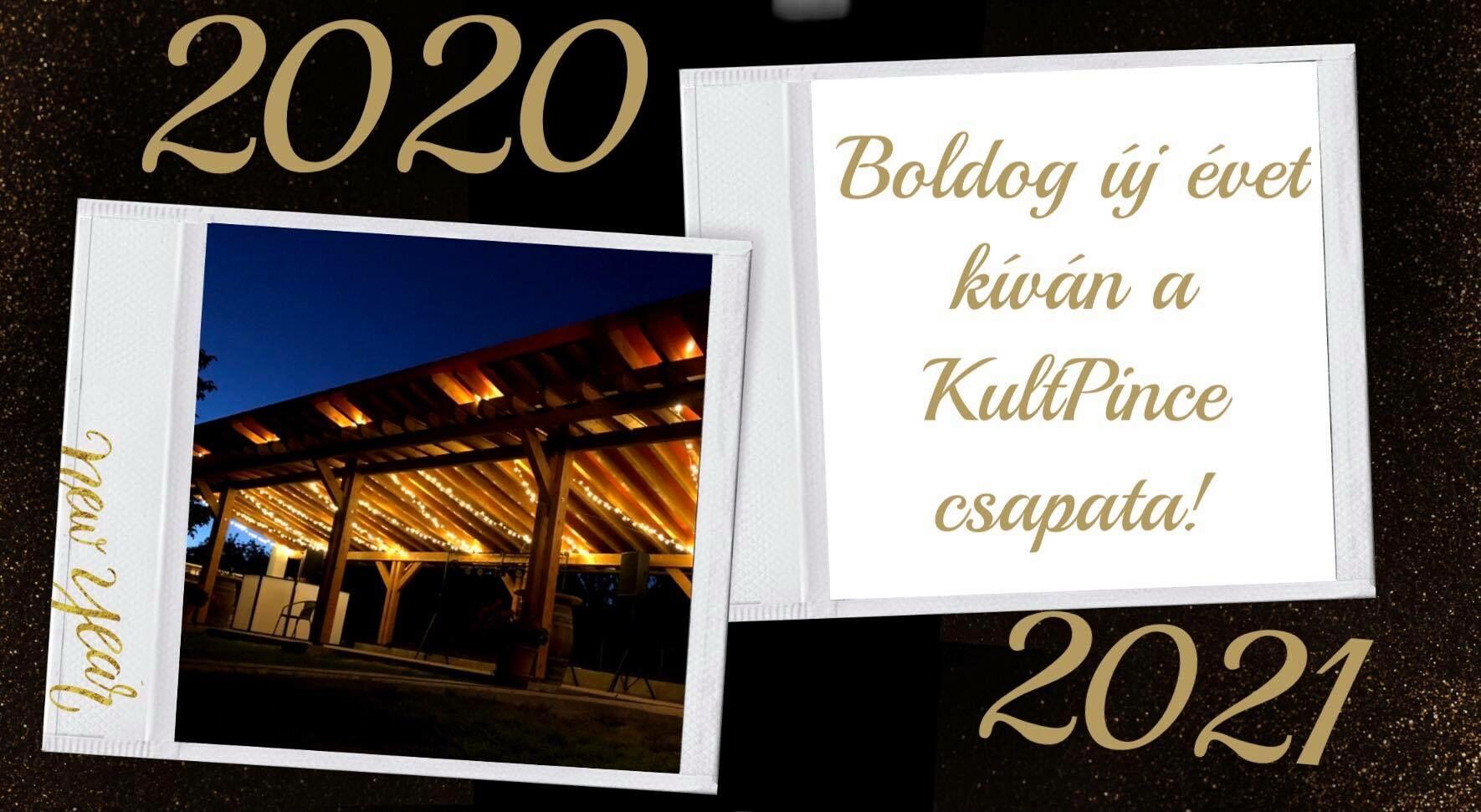 Boldog Új évet Kíván a KultPince Csapata