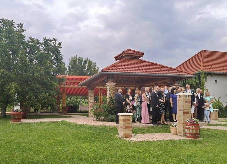 Rita és Roland esküvője