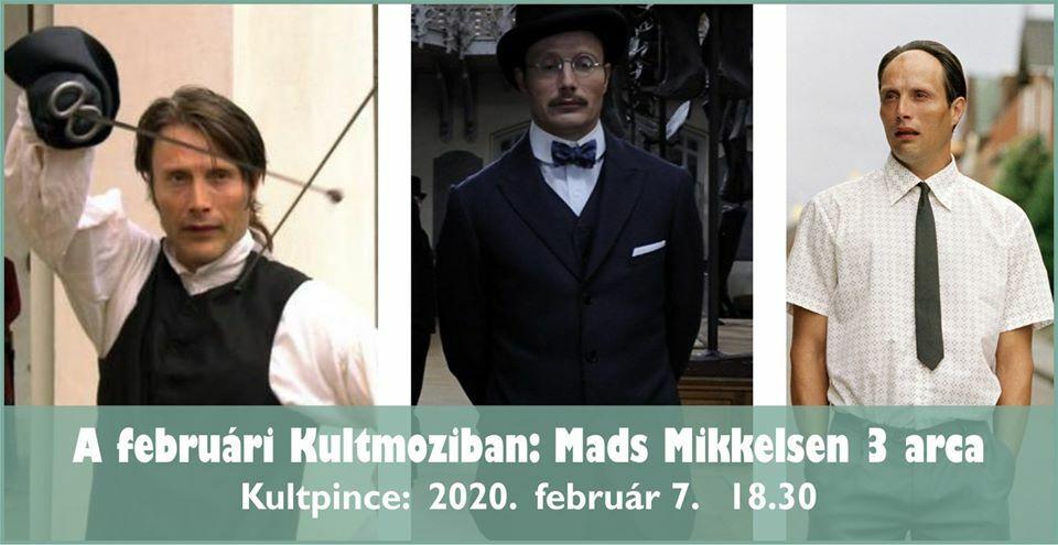 Februári KultMoziban: Mads Mikkelsen 3 arca