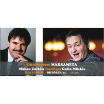 MAKSAMÉTA - interaktív humorklub