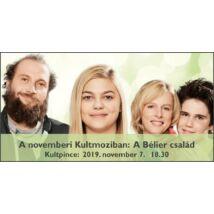 Novemberi KultMoziban a Bélier család