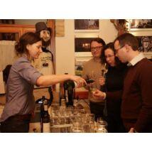 Borkóstoló, borest meghívott vendég borászokkal