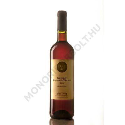 Kunsági Kékoportó - Pinot Noir küvé