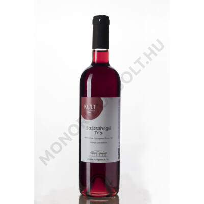 Strázsahegyi Trió száraz OEM házasított vörösbor 2016